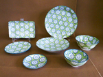 COOKIE GREEN - PORCELAIN - PL
