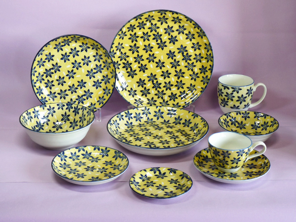 YELLOW BACK - PORCELAIN - PF