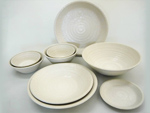 SAND - porcelainware (*Recycled Clay)