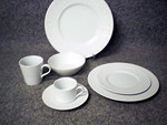 IVY SERIES-PLAIN WHITE PORCELAIN